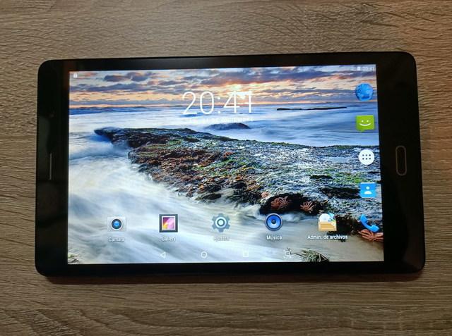 TABLET PC 8. 0'' HD,  NUEVA,  DUAL SIM - foto 1