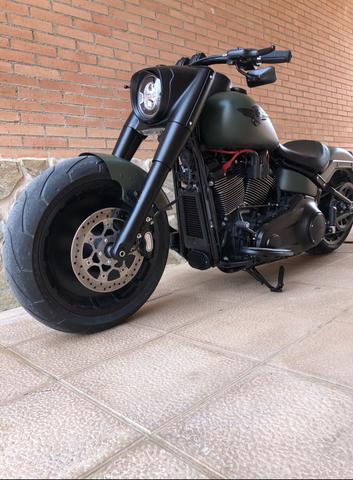 Pastillas delanteras del Harley 1450 flstfi-Fat Boy año 2001-2006 atrás