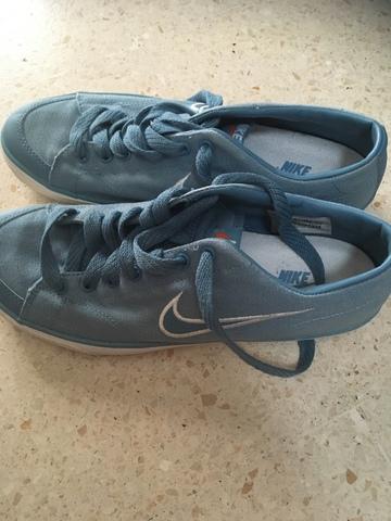 zapatillas nike mujer azul