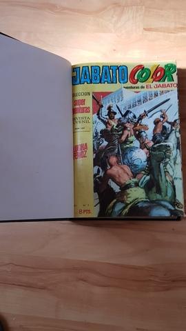 2 TOMOS ENCUADERNADOS EL JABATO 1969 segunda mano  Barcelona