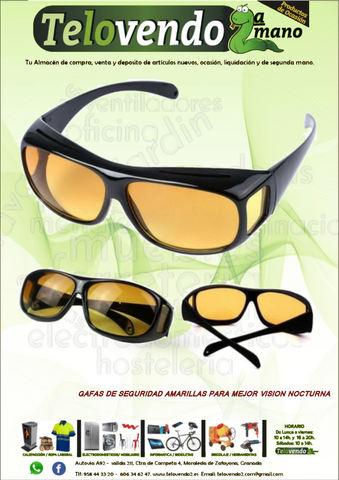 Gafas De Seguridad Amarillas Para Mejor