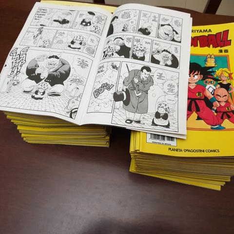 Comics Serie Amarilla Dragonball