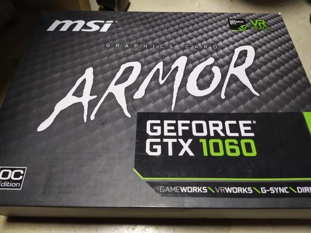 MSI 1060 ARMOR OC 6GB - foto 4