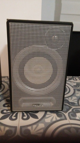"2 ALTAVOZ 10 cm 4/"" caja cerrada 60 W Superficie Empotrable Speaker"