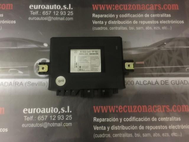 un automático 022 545 25 32 Original sin Usar Mercedes-Benz Interruptor de Relé