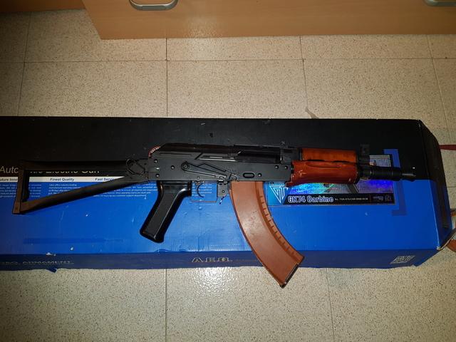 AK74U  GYG AIRSOFT - foto 4