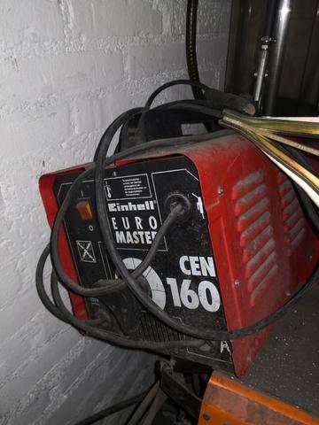 MÁQUINA SOLDAR EINHELL CEN 160 ELECTRODO - foto 2