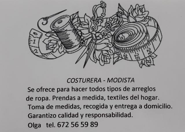 ARREGLOS DE ROPA,  COSTURERA,  MODISTA TIT - foto 1