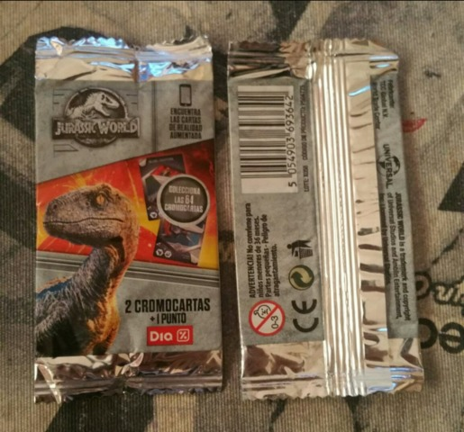 PANINI-Jurassic World Movie 2-carta 162