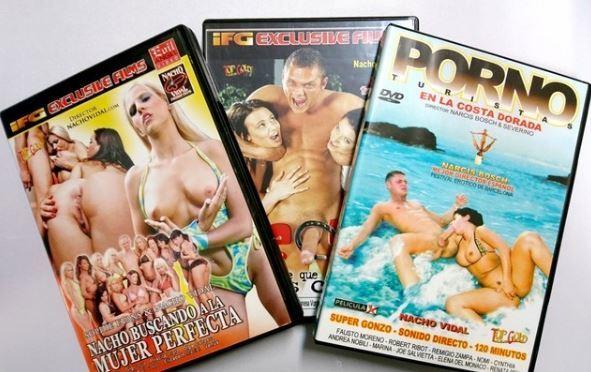 VENDO DVDS DE NACHO VIDAL segunda mano  Barcelona