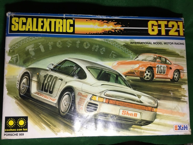 SCALEXTRIC EXIN GT 21 - foto 1