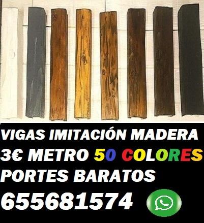 Vigas Imitación Madera Tarragona