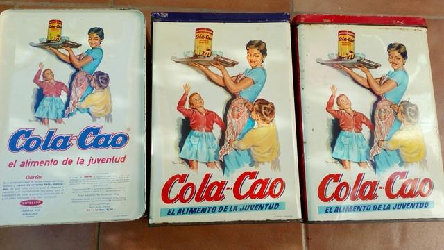 Latas Cola-Cao Años 60