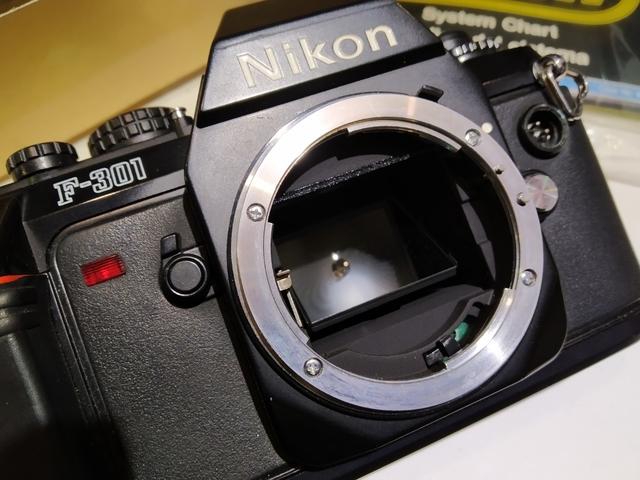 Nikon compartimento para Nikon f-301 f501 SLR cámara