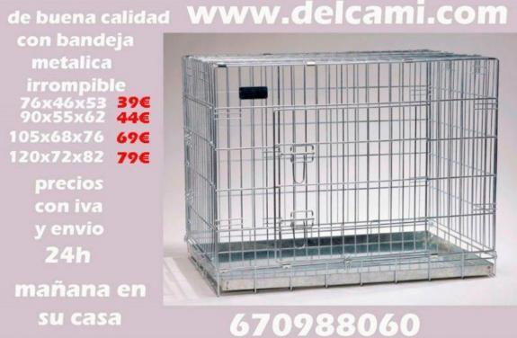 JAULA 76X46X56 ENVIO-24H BUENA CALIDAD - foto 3