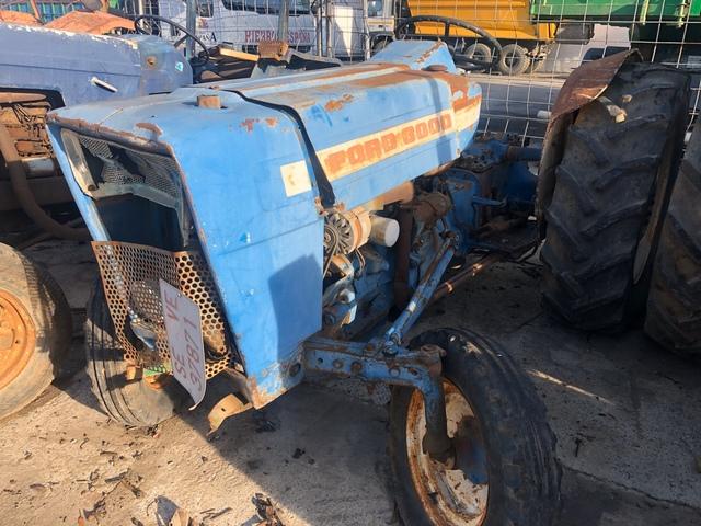 Ford 2000 3000 4000 5000 Caja De Herramientas De Tractor