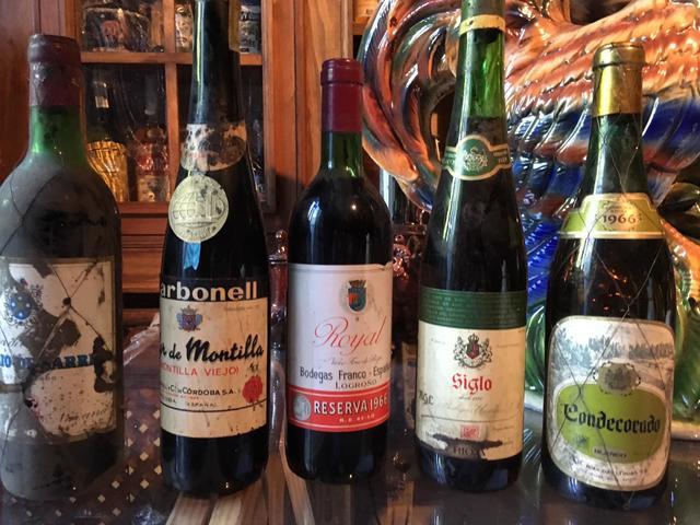 Botellas Vino Antiguas