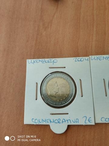 2 Euros Luxemburgo 2004 / 2005 / 2006