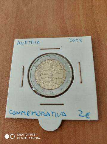 Moneda 2 Euros Austria 2005