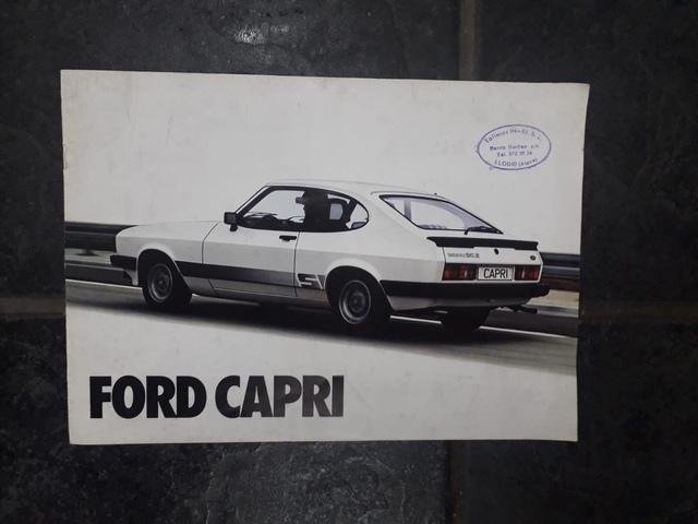 Catalogo Ford Capri 2.0S