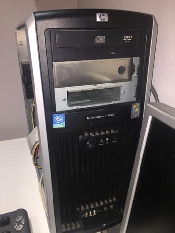 SERVIDOR XW8000 DUAL XEON (2 MICROS) - foto 1