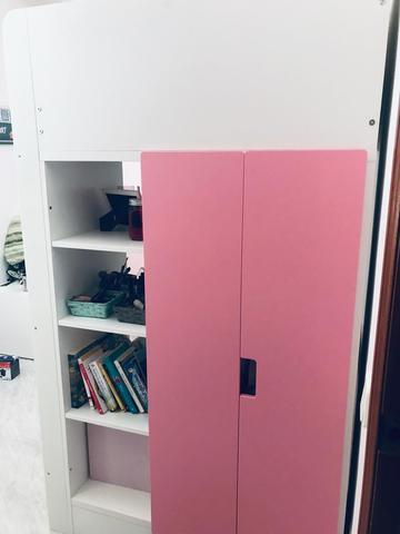 CAMA LITERA DE IKEA CASI NUEVA segunda mano  Los Barrios