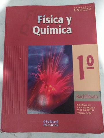 1° BACHILLERATO FÍSICA Y QUÍMICA OXFORD segunda mano  Sevilla