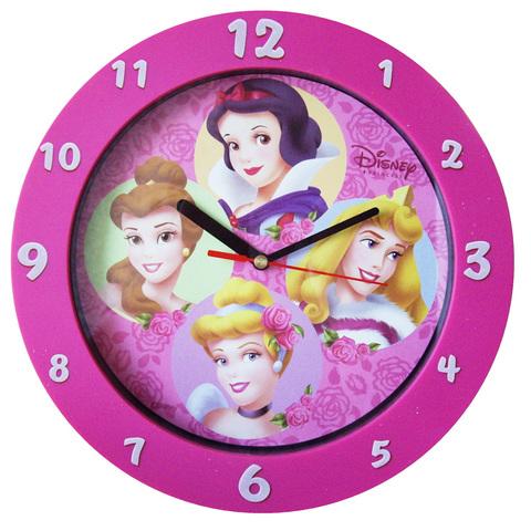 Princesas Disney Reloj Pared Decoracion