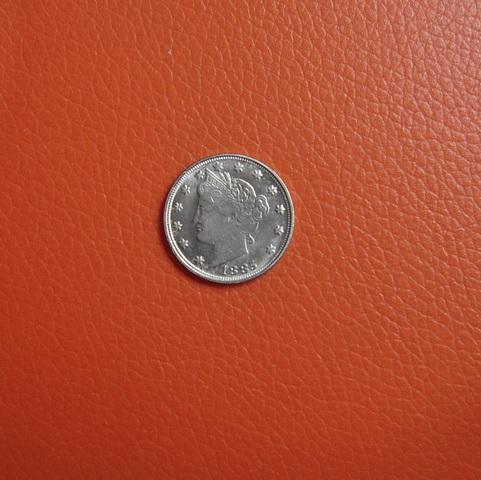 Moneda Usa De 1886 De Dos Caras Iguales