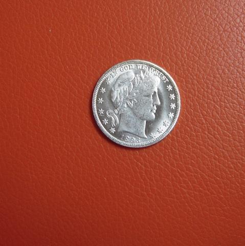 Medio Dolar Usa 1892/1893 De Dos Caras I
