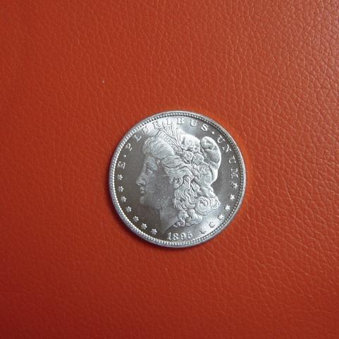 Dolar Usa 1895 De Dos Caras Iguales Con
