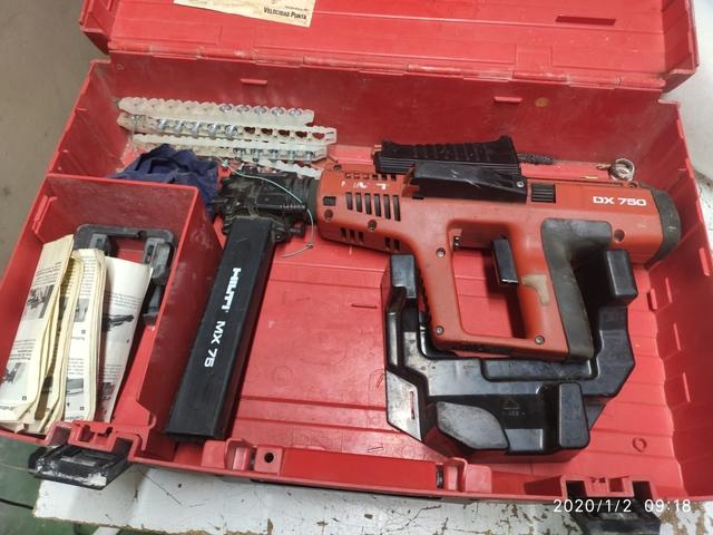 Pistola Hilti  Dx 750