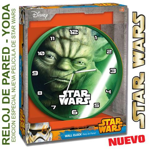 Reloj Pared Yoda Star Wars Caja Regalo
