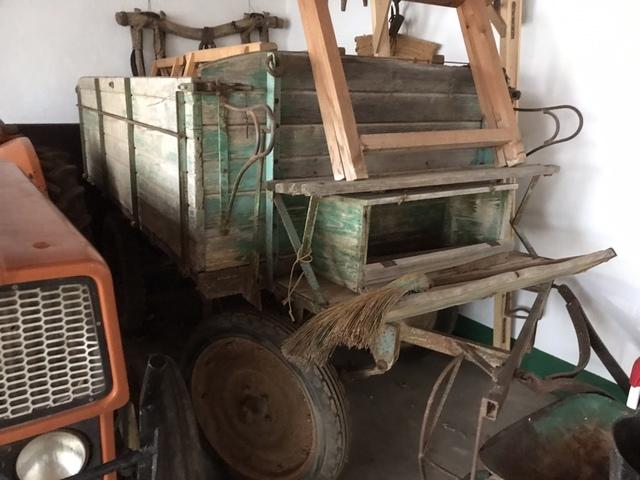 REMOLQUE AGRICOLA DE MADERA DOCUMENTADO - foto 5