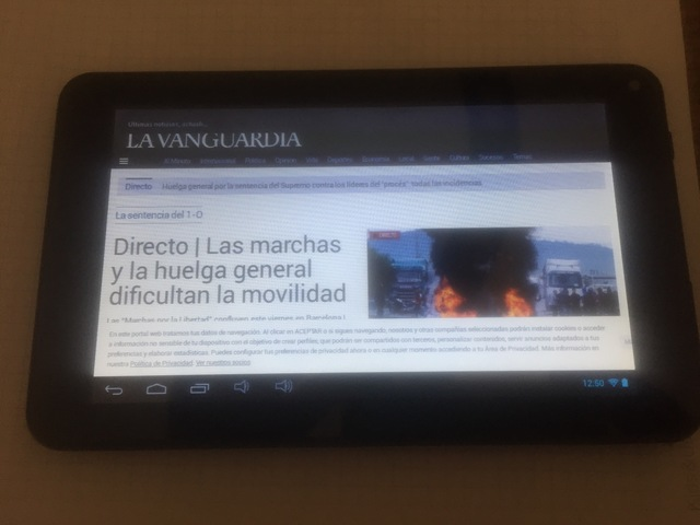TABLET 7 ANDROID IMPECABLE COMPLETA - foto 1