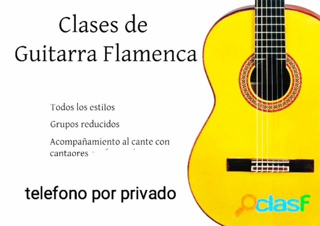CLASES GUITARRA FLAMENCA - foto 1