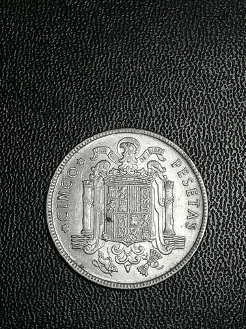 Cinco Pesetas De Franco De 1949