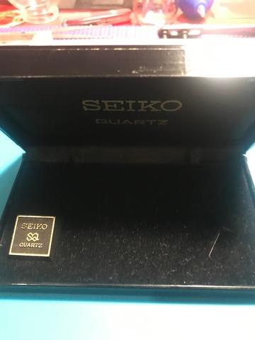 Caja Seiko Quartz