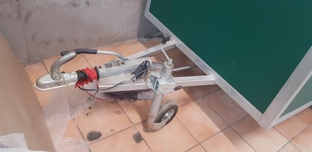REMOLQUE CAJA MOTOS CON RAMPA DE CARGA.  - foto 3