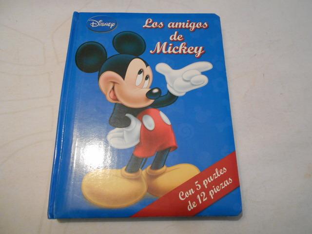 LOS AMIGOS DE MICKEY (LIBRO PUZZLES) - foto 1