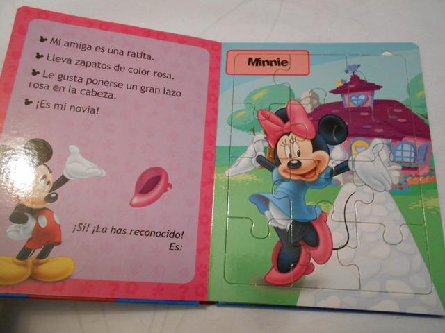 LOS AMIGOS DE MICKEY (LIBRO PUZZLES) - foto 3