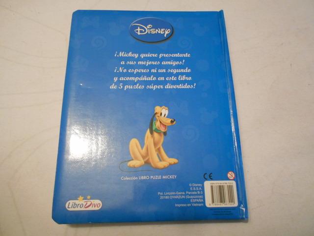 LOS AMIGOS DE MICKEY (LIBRO PUZZLES) - foto 4