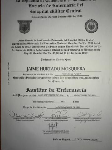 AUXILIAR DE ENFERMERÍA/CUIDADOR.  - foto 2