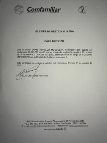 AUXILIAR DE ENFERMERÍA/CUIDADOR.  - foto 4