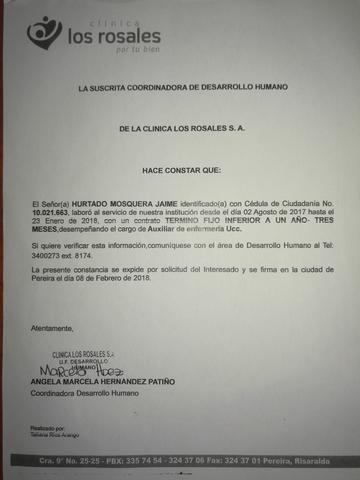 AUXILIAR DE ENFERMERÍA/CUIDADOR.  - foto 5