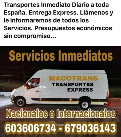 TRANSPORTES LIGEROS INMEDIATOS MUDANZAS - foto 2
