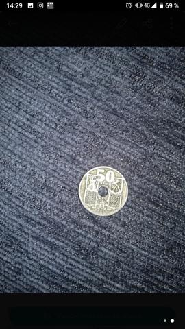 50 Céntimos De Franco De 1949