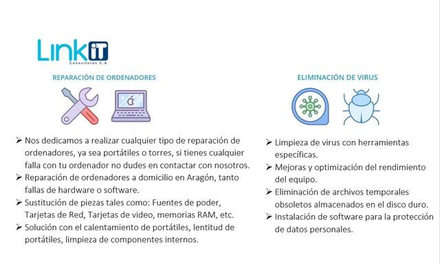 REPARACIÓN Y MANTENIMIENTO A ORDENADORES - foto 1