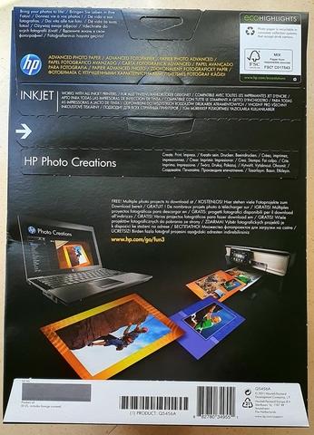 PAPEL FOTOGRÁFICO HP PHOTO CREATIONS.  - foto 2