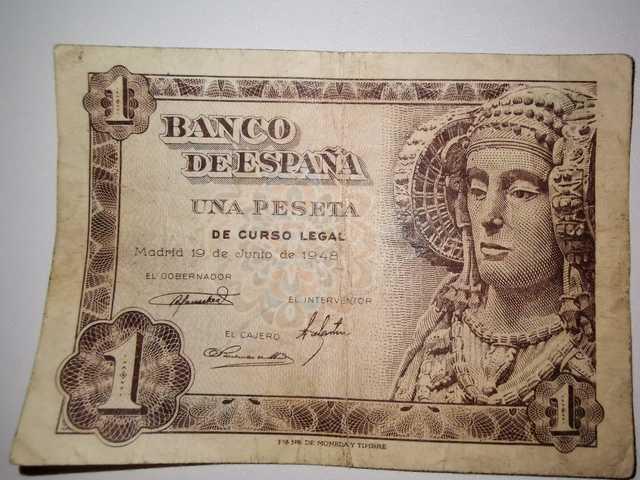 Monedas Y Billetes Antiguos Españoles